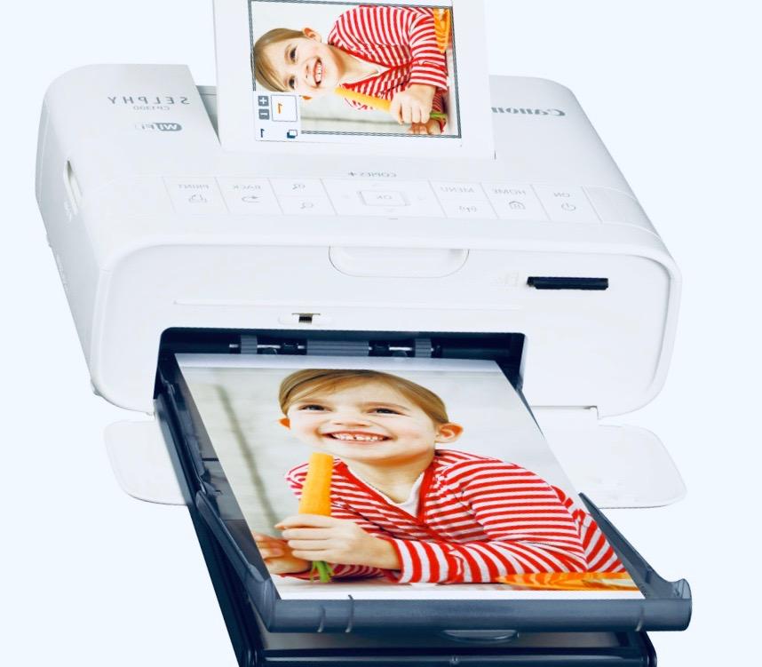 Canon Selphy - компактный сублимационный фотопринтер