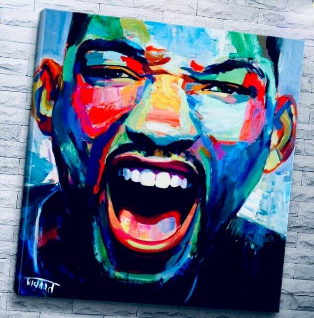 арт портрет