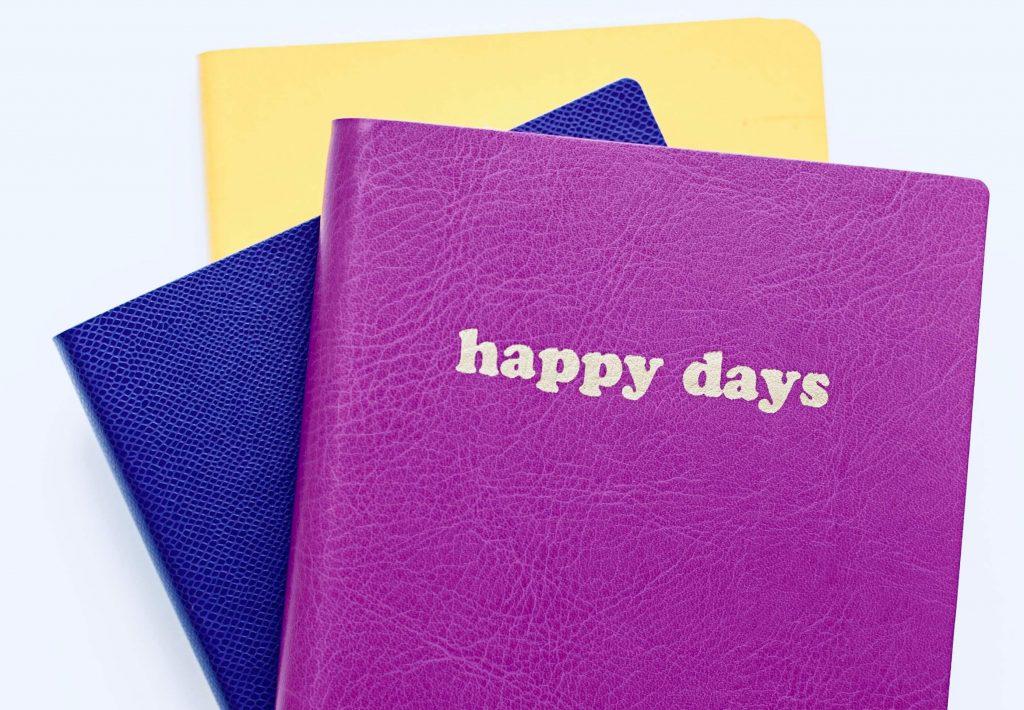 тиснение на ежедневниках