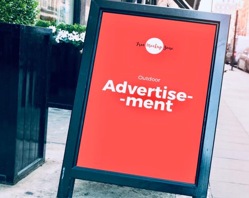 формы наружной рекламы