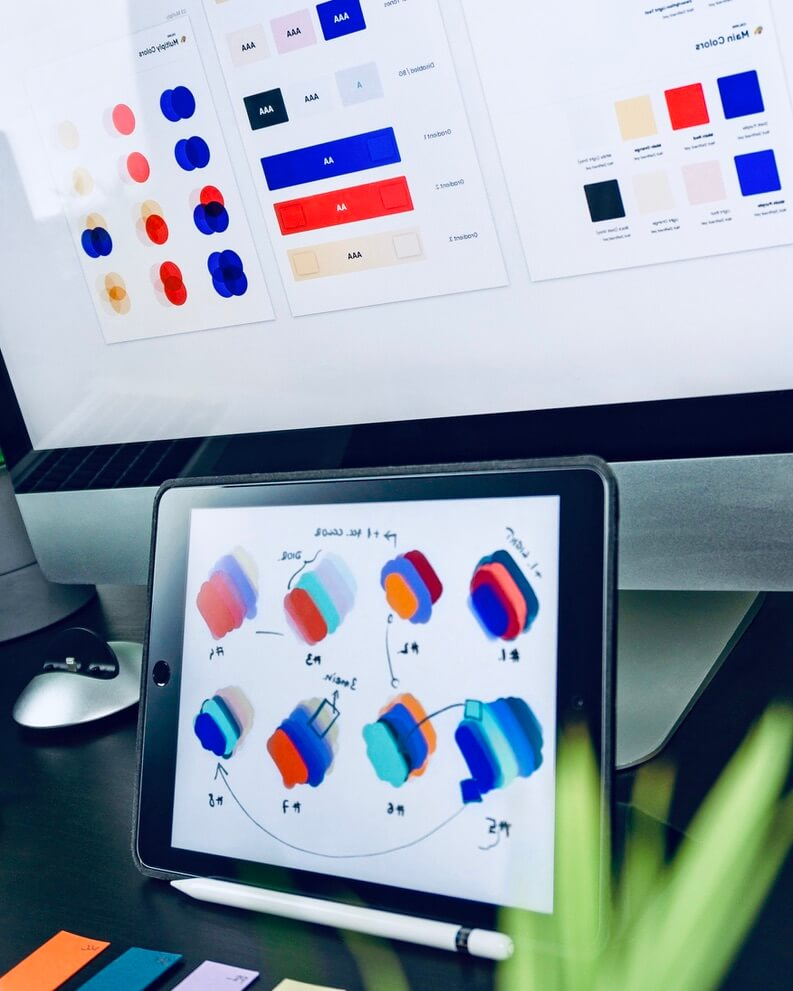 разработка дизайна фирменной полиграфии