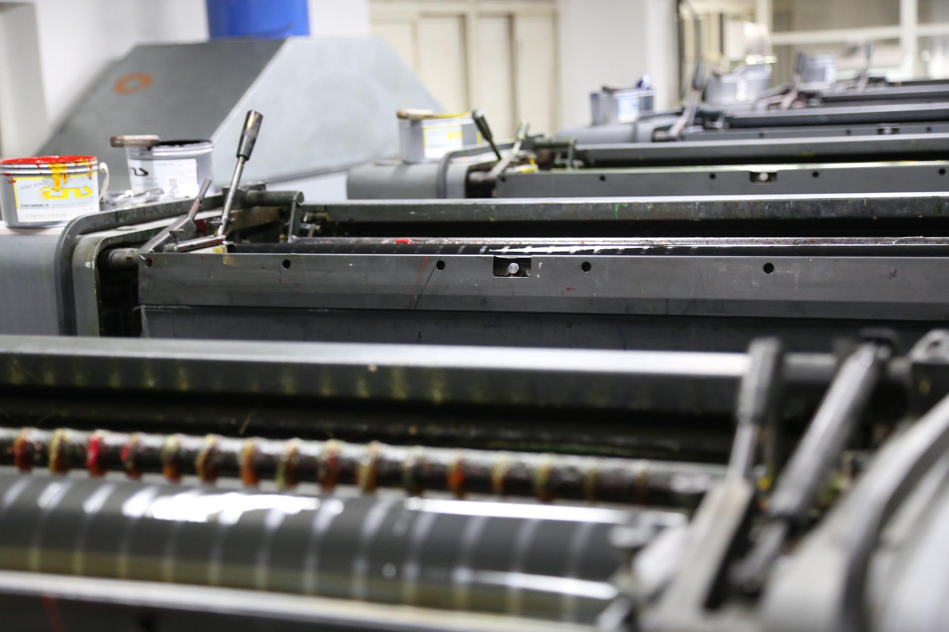 Станки для оффсетной печати