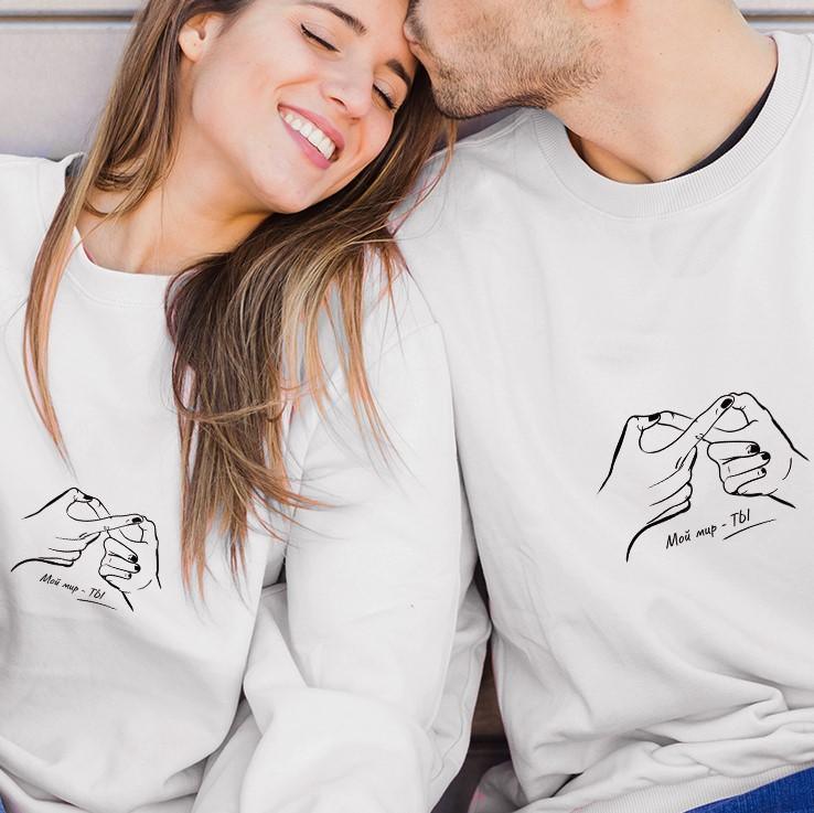 Принты для парных футболок — подборка 1