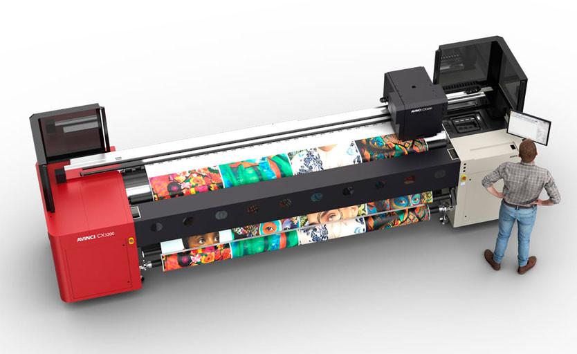 На рынке новый сублимационный широкоформатник: Avinci CX3200 от «Agfa-Gevaert»