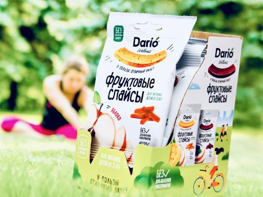 Дизайнеры упаковок взяли курс на натуральность: оформление слайсов Dario