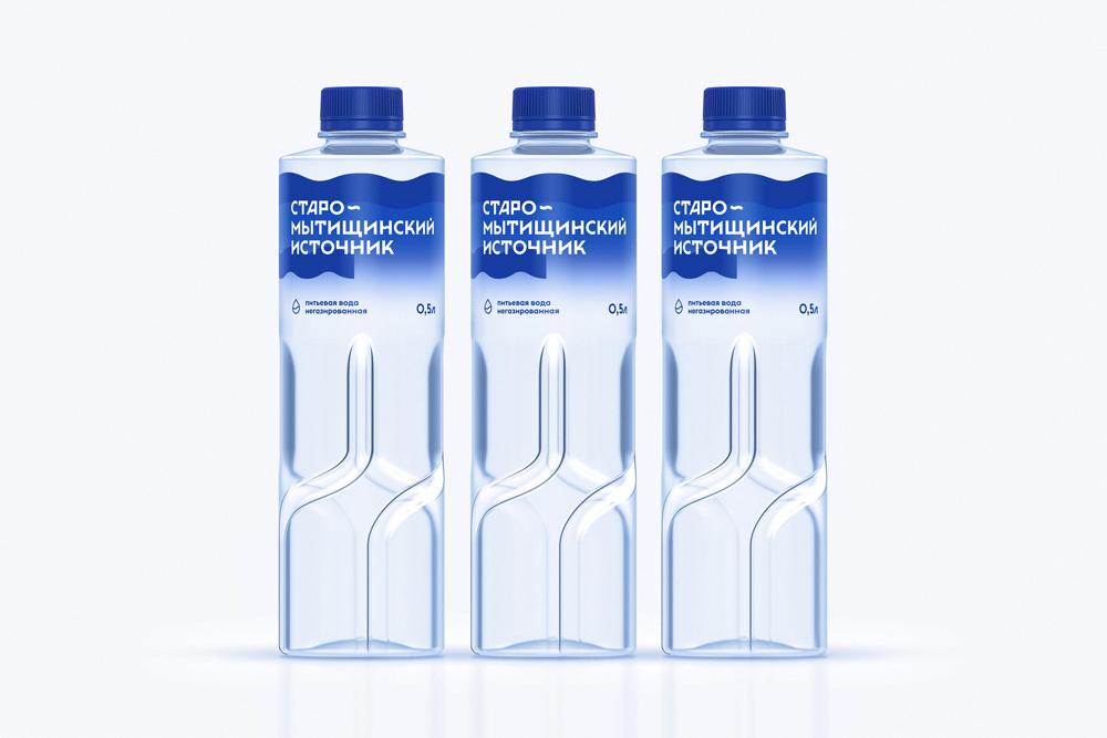 Ребрендинг как переосмысление: агентство Repina branding поработало над упаковкой питьевой воды «Старо-Мытищинский источник»
