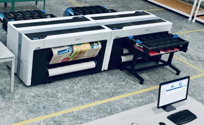 Компания Epson работает над новыми широкоформатными принтерами